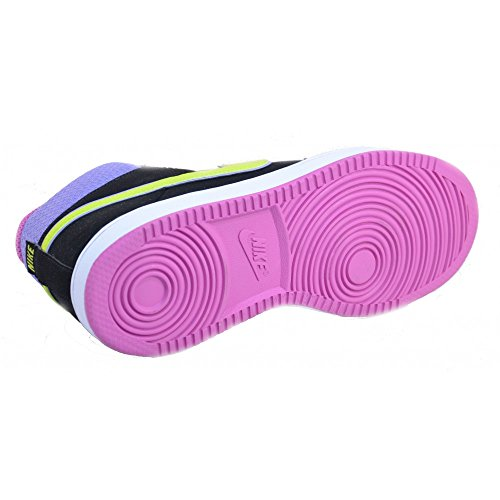 Nike - Nike Backboard 2 MID (GS) Sneaker Schwarz Leder 488158 Schwarz
