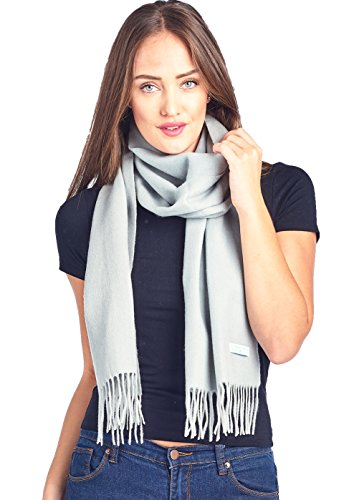High Style 100% Lambswool wool Men and Women Pashmina Scarf (915480, (Mens Wool Scarves)