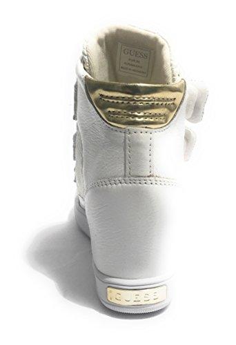 Guess Fosca - Zapatillas de Piel para mujer blanco Bianco