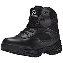 "Maelstrom Men's PATROL 6"" Tactical Duty Work Boot with Zipper"