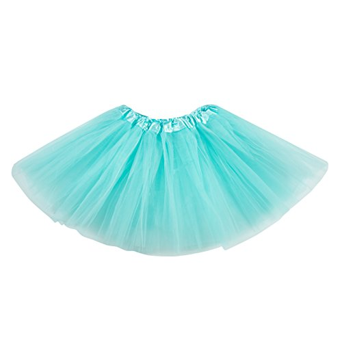 Blue 2 Satin Skirt - 1
