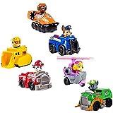 6 PCS Paw Patrol Snow Slide Toys Set Children Toys - Dog Patrols