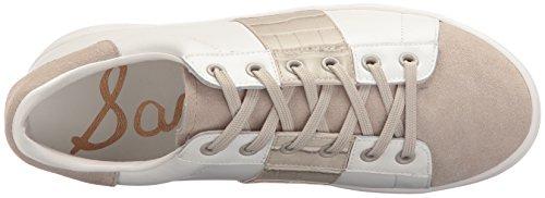 Women's Marquette Edelman White Fashion Greige Sam Sneaker 70Zqxx
