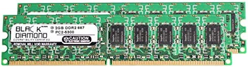 4GB NOT FOR PC 2x2GB Memory for Dell Precision WorkStation 390N New