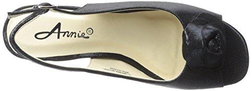 Adidas Chaussures Adair Espadrille Wedge Sandale Noir