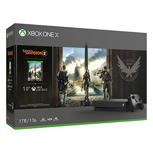 Xbox One X 1TB Console - Tom Clancy's The Division 2 Bundle by Microsoft (Image #2)