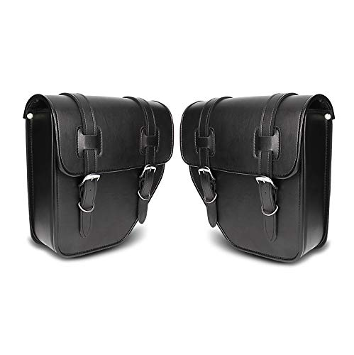 Craftride Saddlebags Pair for Harley Heritage Springer, Street 500/750 Texas black