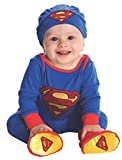 Rubies DC Comics Superman Onesie and Headpiece, Blue, 6-12 Months
