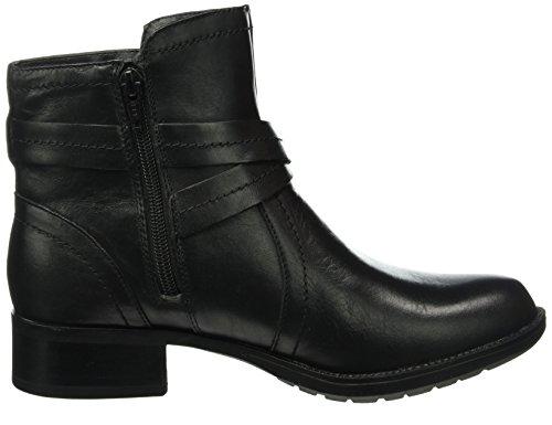 Rockport Copley Waterproof Caroline-CH Intl - Botas cortas para mujer Negro (Black (001))