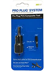Starborn Industries Inc Pro Plug Tool for PVC Decking - for Use with The Pro Plug System for PVC