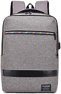 Olprkgdg Mochila para Hombres Mochila para computadora de Gran Capacidad 15.6'Bolsa para computadora de Negocios (Color : Blue)