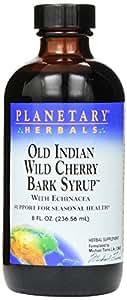 Planetary Formulas® Old Indian Wild Cherry Bark Syrup, 8 oz