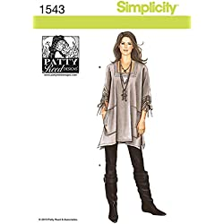 Simplicity Vintage Simplicity Patterns Misses Tunic and Knit Pants by Patty Reed, Size XXS/XS/S/M/L/XL/XXL, XX-Small/X-Small X-Large/XX-Large