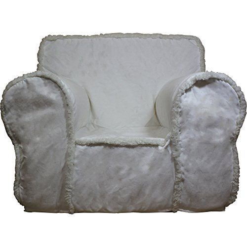 CUB CHAIRS Regular Ivory Sherpa Chair Cover for Foam Children's Chair (Anywhere Chair Insert compare prices)