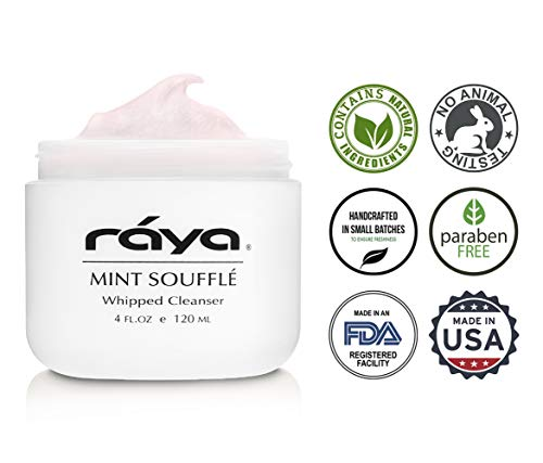 RAYA Mint Soufflé Facial Cleanser 4 oz (102) | pH Balanced Face Wash for Oily and Combination Skin| Helps Clear Clogged Pores and Smooth Complexion by Raya (Image #3)