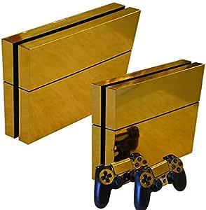 ملصق غلاف ذهبي لجهاز Playstation 4