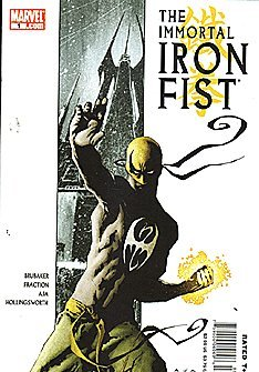 The Immortal Iron Fist #1 (Kenny Irons)