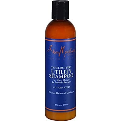 SheaMoisture Three Butters Utility Shampoo - 8 oz