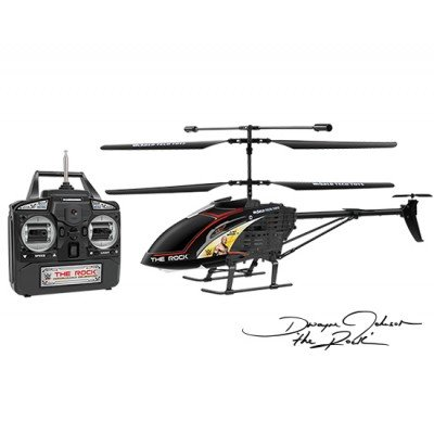 World Tech Toys 3.5 Ch The Rock Unbreakable Remote Control Gyro Helicopter by World Tech Toys