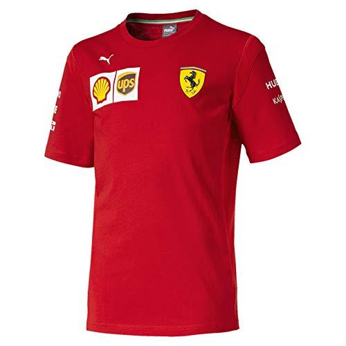 - Ferrari Scuderia 2019 F1 Kids Team T-Shirt (7-8 Years) Red