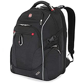 Swiss Gear Scan Smart Laptop Backpack SA6752 Black