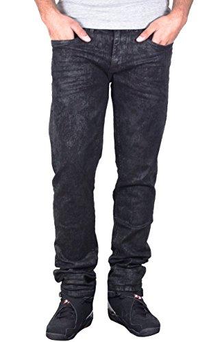 Jordan Craig Stretch Slim Fit Denim Mirror Black (JM2151) Sz. 38 x 34 by Jordan Craig