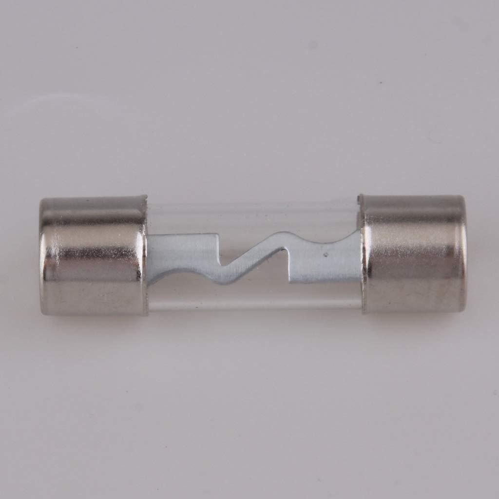 30A perfk 88 x 40 mm Auto Glassicherungshalter Glasrohrsicherung Halterung 37 x 10 mm Glassicherung Glasrohrsicherung
