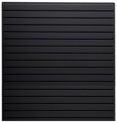 Jifram 01000800 Easy Living Easy Wall Slat Wall Kit, Black Jifram Extrusions