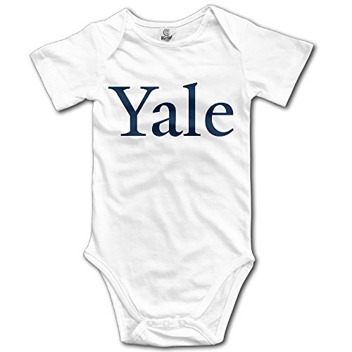 Price comparison product image OOKOO Baby's Yale University Bodysuits White 6 M