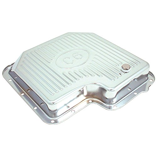 Spectre Performance 5456 Chrome Transmission Pan for C6