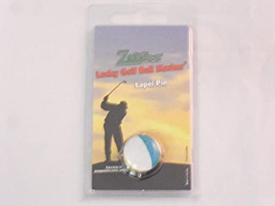 Zoogee Magnetic Lapel Pin & Domed Golf Ball Marker Ireland Flag