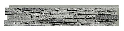 NextStone Slatestone Panel Rocky Mountain Graphite 8 Panels Per Box1712 Sq Ft Per Box