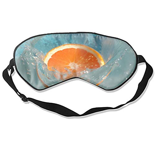 Fresh Orange Eye Mask Blindfold Eyeshade Eye Cover for Travel,Nap,Meditation