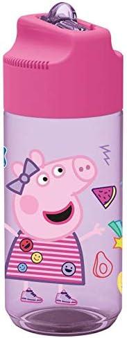 PEPPA PIG Botella cantimplora tritan hidro HOME Unisex Adulto, Compuesto, varios