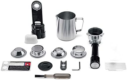color negro Sage Appliances SES980 Cafetera espresso