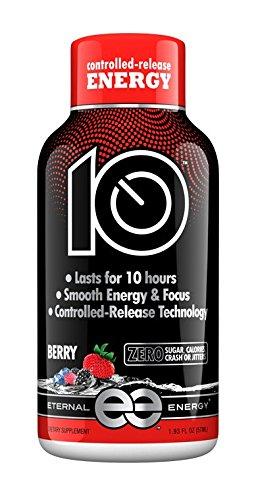 Amazon.com : Eternal Energy 10 Hour Timed Release Energy Shot : Grocery & Gourmet Food