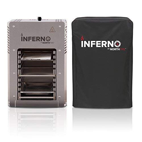 NORTHFIRE INFERCVR Inferno Single Propane Infrared Grill Cover, Black - http://coolthings.us