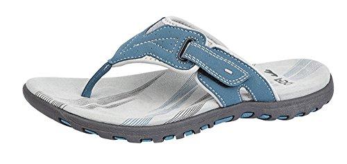 PDQ - Sandalias de vestir para mujer Azul