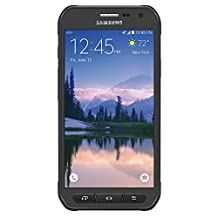 Samsung Galaxy S6 Active G890A 32GB Unlocked GSM 4G LTE Octa-Core Smartphone w/ 16MP Camera - Black