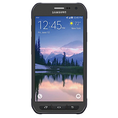 Samsung Galaxy S6 Active G890A 32GB Unlocked GSM 4G LTE Octa-Core Smartphone w/ 16MP Camera - Gray (Certified Refurbished) (Processor Active)