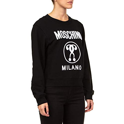 Moschino Felpa A170554274555 Donna Nero Cotone xw4YqzwO