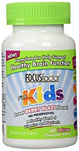 FocusFactor Focus Factor For Kids - 60 ct, 2 pack