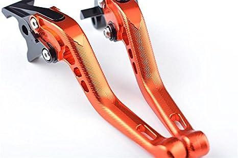 1098 // S // Tricolor 2007-2008 848 //EVO 2007-2013 STREETFIGHTER //S 2009-2013 Tencasi Rosso CNC 3D Lungo Regolabile Freni e Frizione Leve per Ducati 1198//S//R 2009-2011