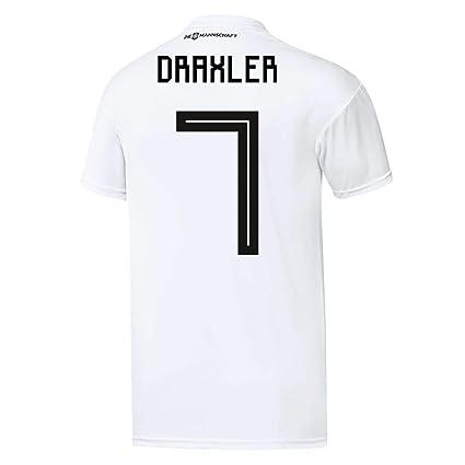 Camiseta Adidas para niños, del equipo de fútbol DFB, réplica de la primera equipación