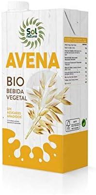 LECHE DE AVENA SIN AZUCAR BIO 1L SOLNATURAL X 4 UNIDADES: Amazon.es: Alimentación y bebidas