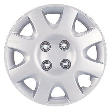 Drive Accessories KT-895-14S/L, Honda Civic, 14' Silver Lacquer Replica Wheel Cover, (Set of 4) 14 Silver Lacquer Replica Wheel Cover KT895-14SL