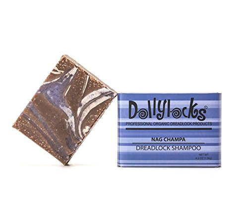 Dollylocks 4.5oz Nag Champa Dreadlock Shampoo Bar