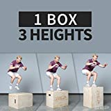 Rep 3 in 1 Wood Plyometric Box for Jump Training
