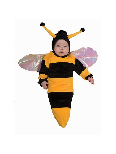 Lil Bumble Bee Baby Infant Costume - (Newborn Bumble Bee Costume)