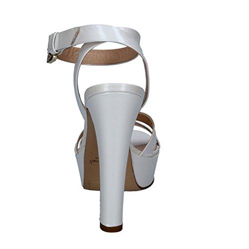 MI AMOR Sandalias de Vestir de Charol Para Mujer Bianco